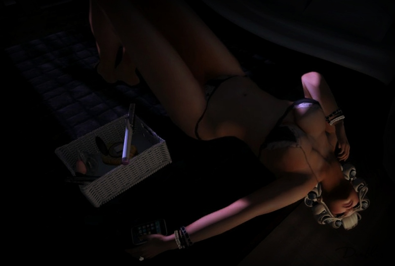 :: c.A. :: chocolate atelier Jaya Black Lingerie for CSR