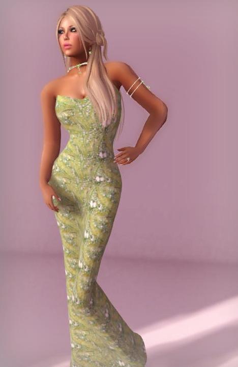 Lushish Catz -Syra Gown