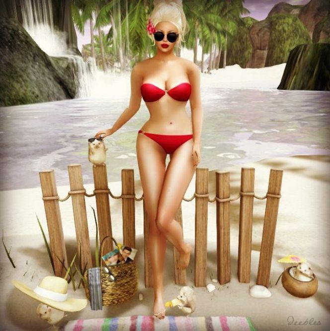 OSITO Bikini for HELLO TUESDAY
