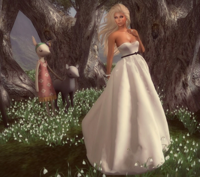 Poute- Abigail Gown for HELLO TUESDAY 29th July