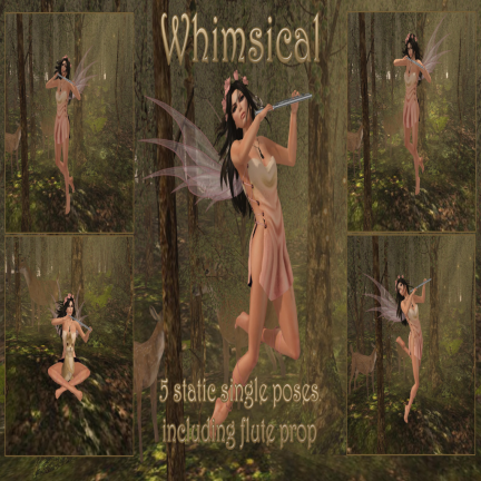 RACK Poses - Whimsical Pose Set