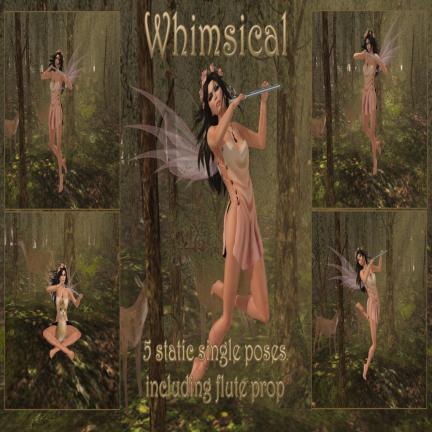 RACK Poses - Whimsical Pose Set
