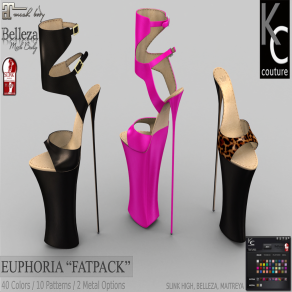._KC.. EUPHORIA FOR SLINK HIGH, MAITREYA & BELLEZA