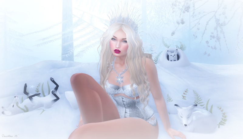 Blacklace Lounge Frost Vixen