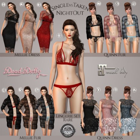 Dead Dollz - SingleVSTaken Night Out Gacha Key