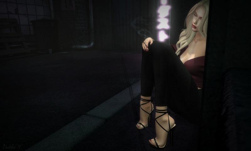 Dead Dollz - Lizabeth Sandals
